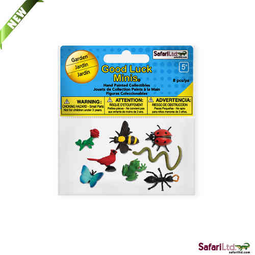 Safari Good Luck Minis - Gartentiere Fun Pack - Glücksminis