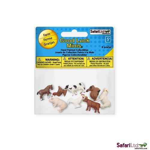 Safari Good Luck Minis - Bauernhoftiere Fun Pack - Glücksminis