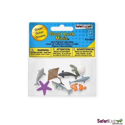 Safari Good Luck Minis - Meerestiere Fun Pack - Glücksminis