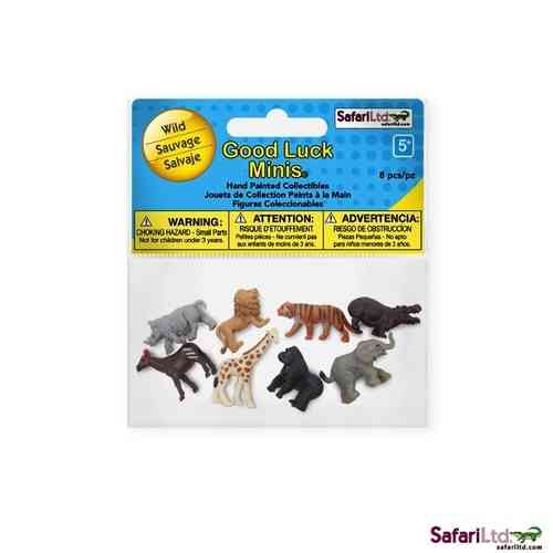 Safari Good Luck Minis - Wildtiere Fun Pack - Glücksminis