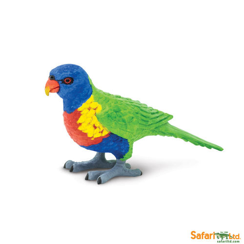 Safari Wings of the World - Regenbogenpapagei Figur