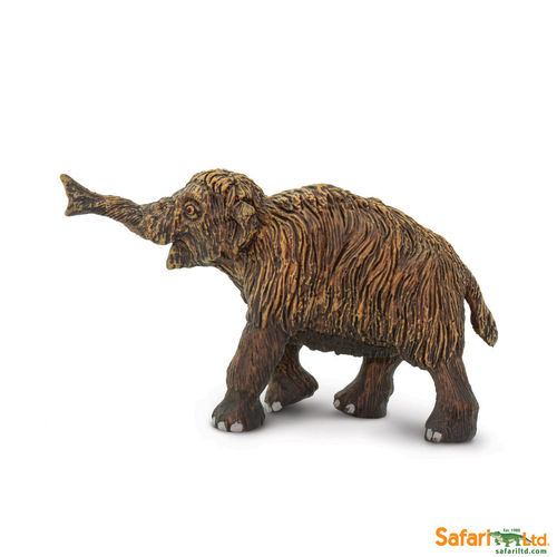 Safari Ltd. - Wild Safari Prehistoric World - Wollhaarmammutbaby Figur