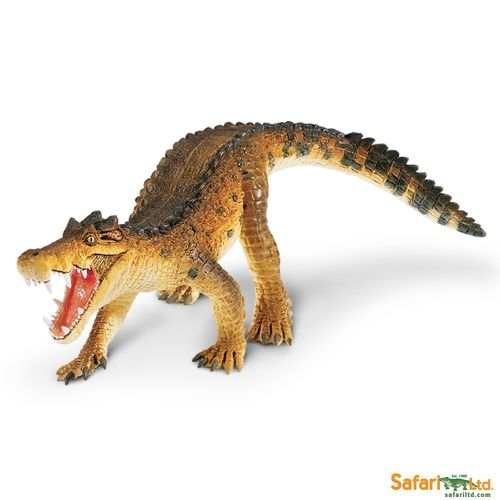 Safari Ltd. - Wild Safari Prehistoric World - Kaprosuchus Figur