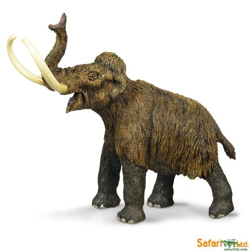Safari Ltd. - Wild Safari Prehistoric World - Wollhaarmammut Figur