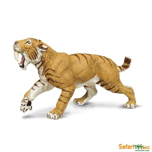 Safari Ltd. - Wild Safari Prehistoric World - Smilodon Figur