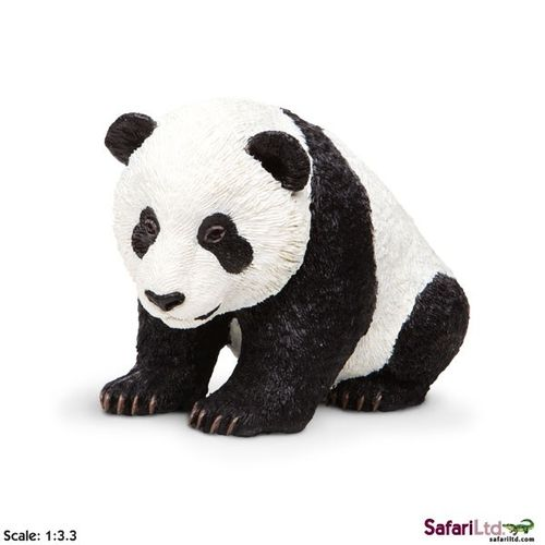 Safari Incredible Creatures - Panda Baby Figur