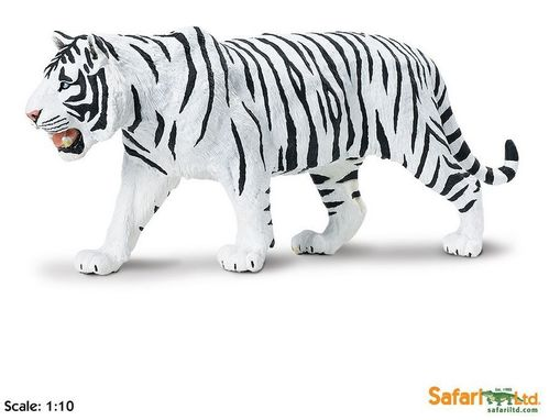 Safari Wildlife Wonders - Weißer Tiger XL-Figur