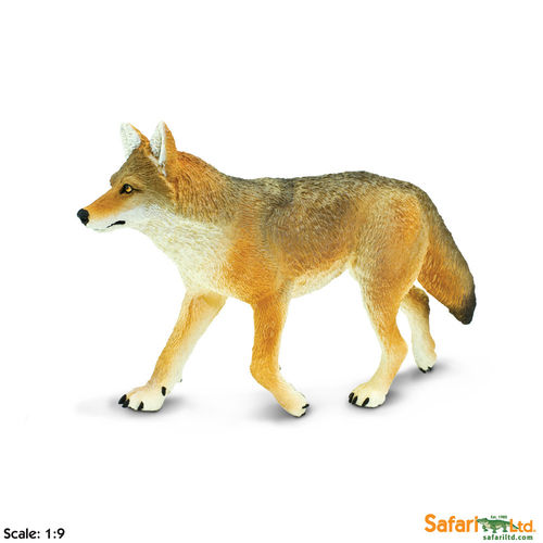 Safari Wildlife Wonders - Kojote XL-Figur
