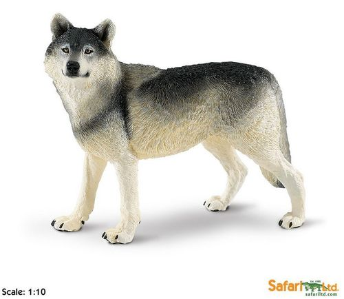 Safari Wildlife Wonders - Wolf XL-Figur