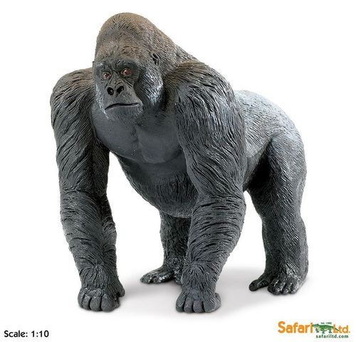 Safari Wildlife Wonders - Silberrücken Gorilla XL-Figur
