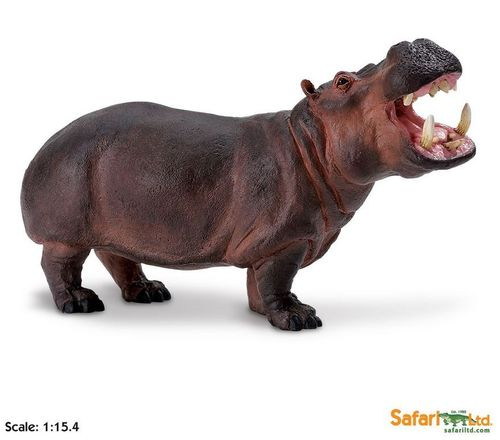 Safari Wildlife Wonders - Nilpferd XL-Figur