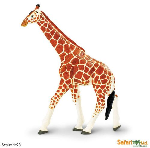 Safari Wildlife Wonders - Netzgiraffe XL-Figur