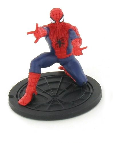 Comansi - Ultimate Spiderman -Spiderman knieend Figur