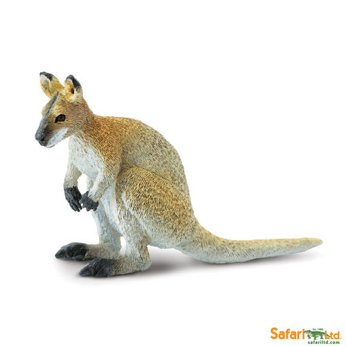 Safari Wild Safari Wildlife - Wallaby Figur